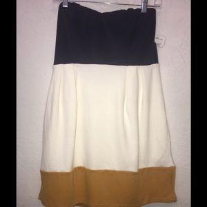 Forever 21 Color Block Mini Dress-Size Large